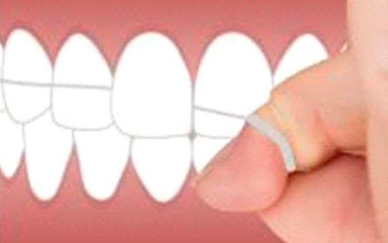 Utilizar hilo dental